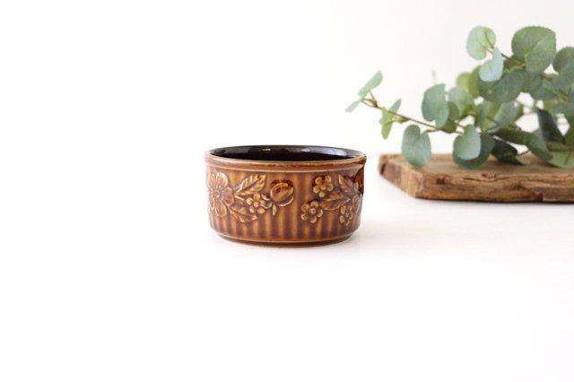 耐熱スフレ 小 マーガレット 茶 耐熱陶器 光泉窯 萬古焼 画像5