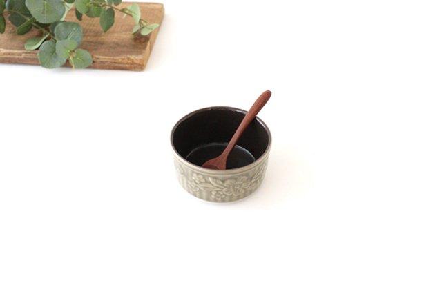 耐熱スフレ 小 マーガレット グレー 耐熱陶器 光泉窯 萬古焼 画像4