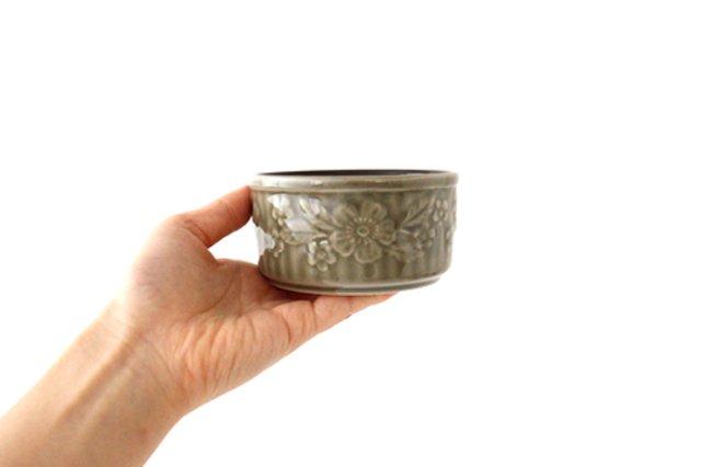 耐熱スフレ 小 マーガレット グレー 耐熱陶器 光泉窯 萬古焼 画像6
