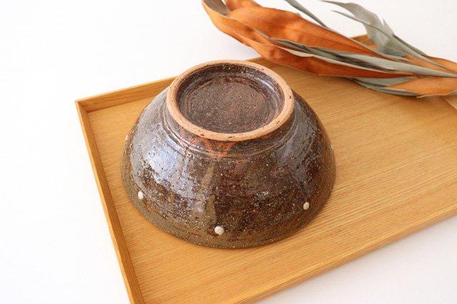 6寸鉢 しのぎ シマ 陶器 陶芸こまがた 駒形爽飛 やちむん 画像5