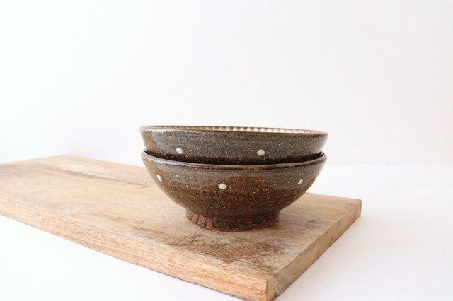 6寸鉢 しのぎ シマ 陶器 陶芸こまがた 駒形爽飛 やちむん 画像6