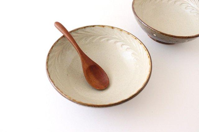 6寸鉢 しのぎ デイゴ 陶器 陶芸こまがた 駒形爽飛 やちむん 画像5