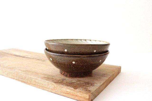 6寸鉢 しのぎ デイゴ 陶器 陶芸こまがた 駒形爽飛 やちむん 画像6