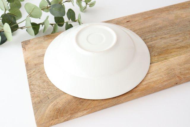 リムボウル L 白 陶器 光泉窯 萬古焼 画像3