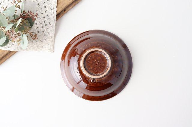平鉢 茶 陶器 光泉窯 萬古焼 画像3