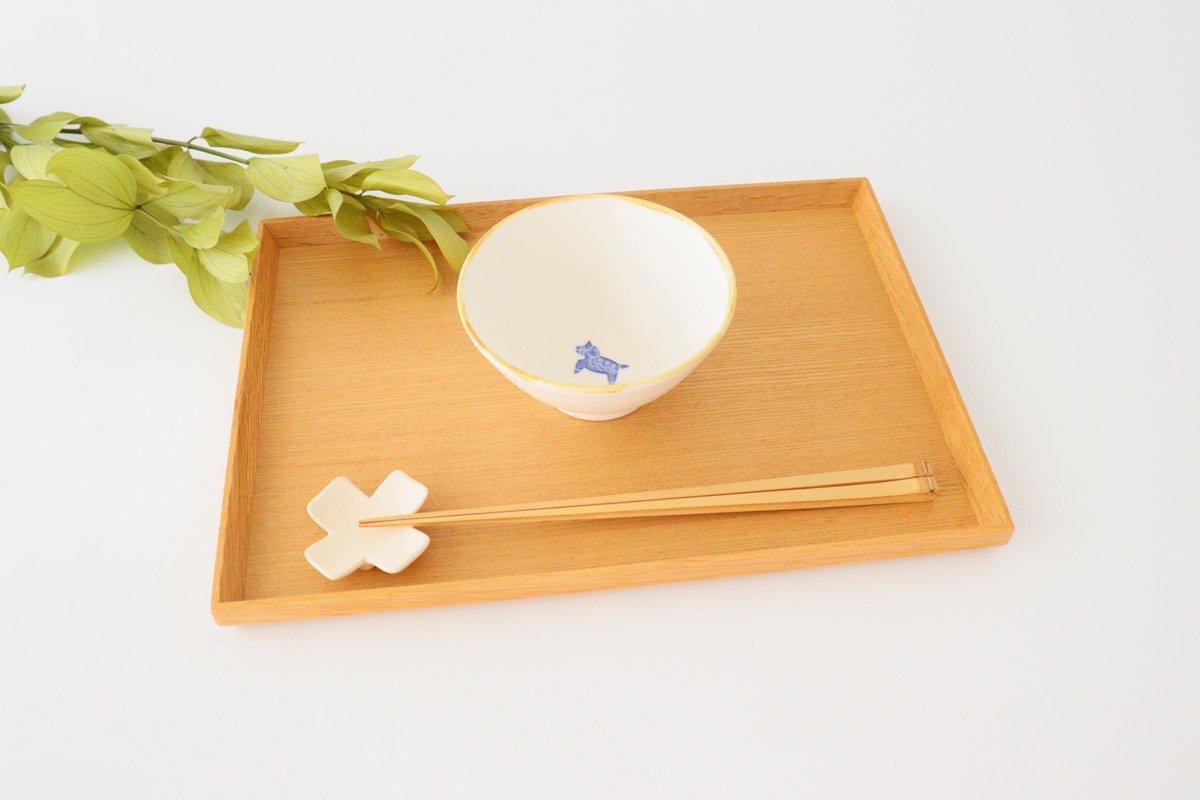 ご飯茶碗 小 ウマ 磁器 原村俊之 画像3