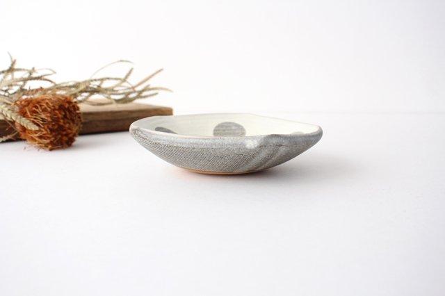 五角皿 水玉マット 陶器 翁明窯元 小石原焼 画像3