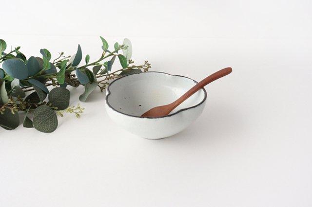 粉引輪花小鉢 陶器 信楽焼 画像4