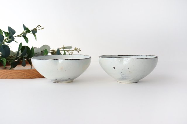 粉引輪花小鉢 陶器 信楽焼 画像6