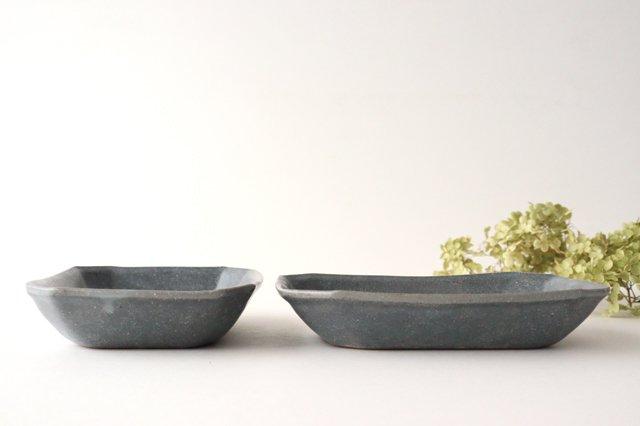 グレー釉 八角深鉢 小 陶器 古谷製陶所 画像3