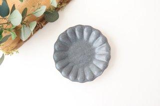 グレー釉 輪花深皿 小 陶器 古谷製陶所商品画像