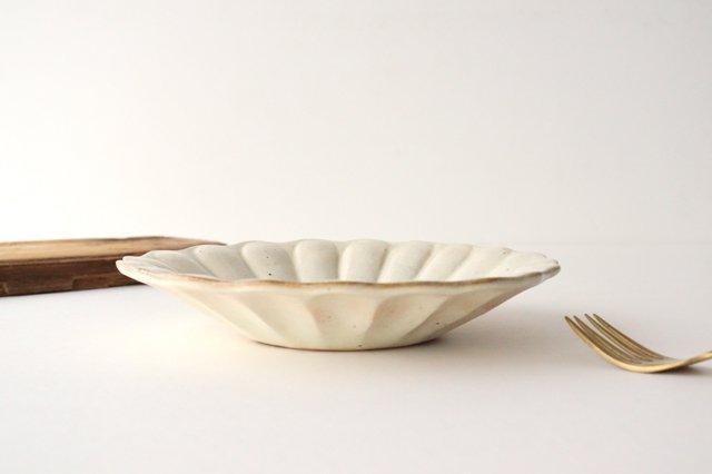 鉄散 輪花深皿 大 陶器 古谷製陶所 画像4