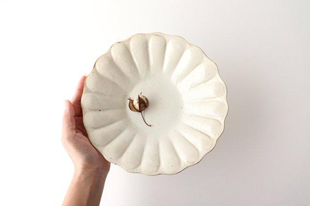 鉄散 輪花深皿 大 陶器 古谷製陶所 画像6
