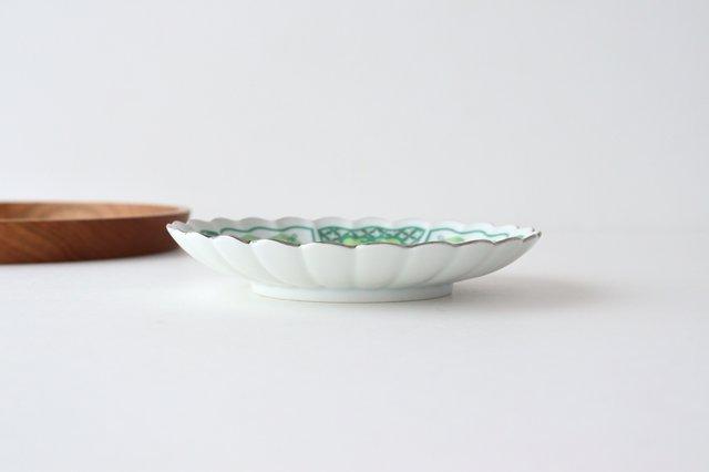 皐月15cm皿 moegi 磁器 kotohogu 波佐見焼 画像2