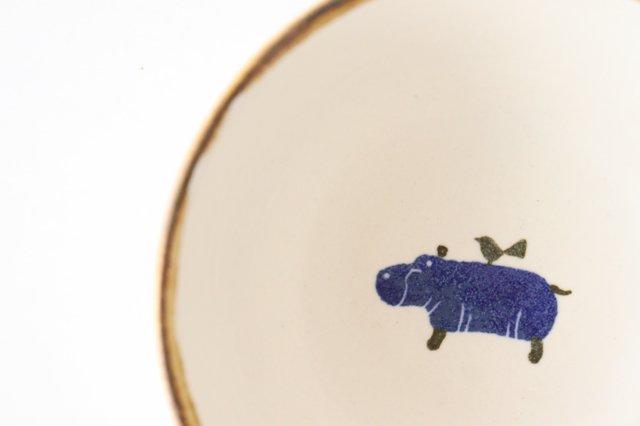 ボウル カバ 陶器 安見工房 信楽焼 画像2