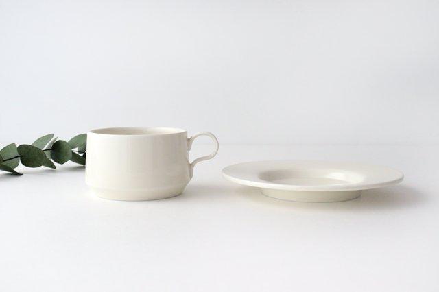 ティーカップ アイボリー 磁器 sabato 波佐見焼 画像5