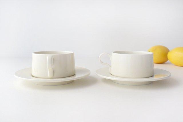 ティーカップ アイボリー 磁器 sabato 波佐見焼 画像6