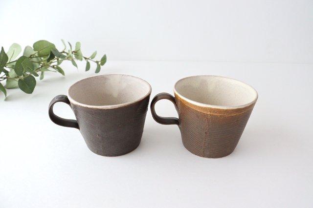 マグカップ 黒 陶器 堂本正樹 信楽焼 画像5