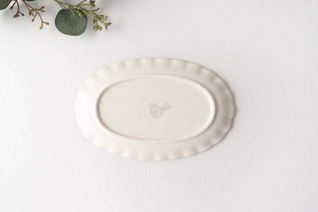 【一点もの】楕円皿 家 陶器 安見工房 信楽焼 画像5