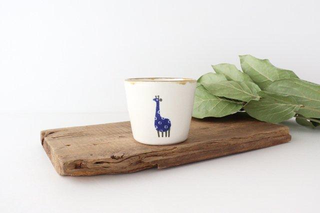 【一点もの】フリーカップ キリン 陶器 安見工房 信楽焼