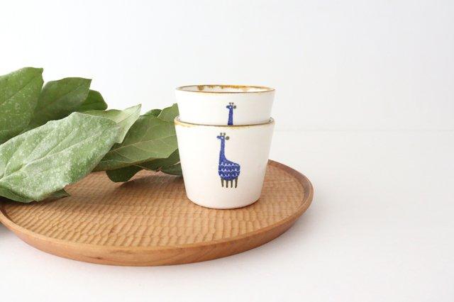 【一点もの】フリーカップ キリン 陶器 安見工房 信楽焼 画像3