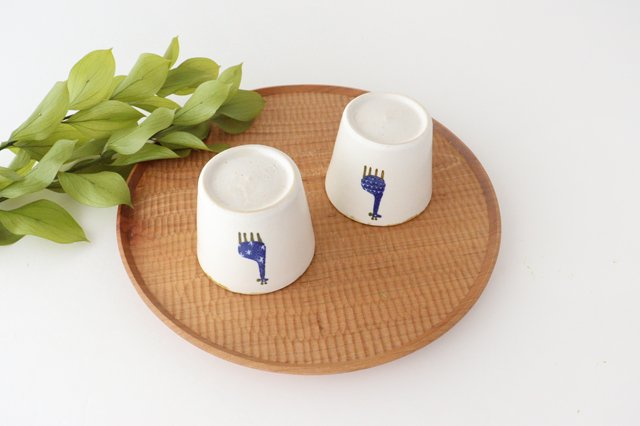 【一点もの】フリーカップ キリン 陶器 安見工房 信楽焼 画像6