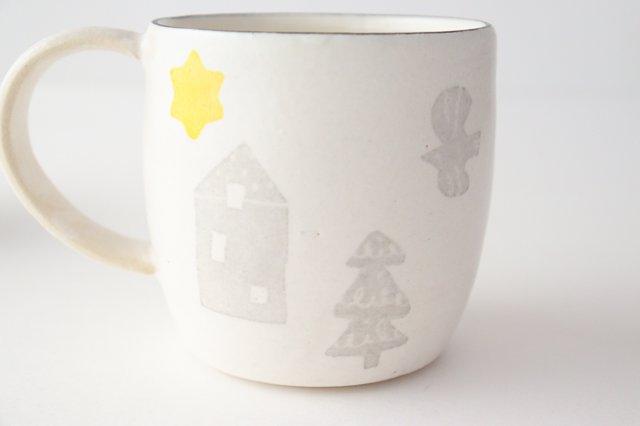 【一点もの】マグカップ 気球 陶器 安見工房 信楽焼 画像6