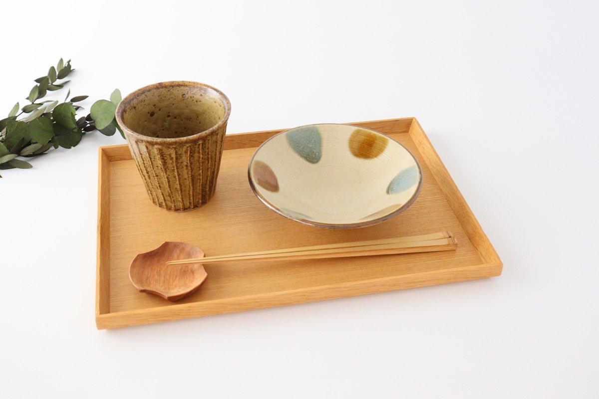 しのぎ浅鉢 小 琉球水玉 磁器 美濃焼 画像2