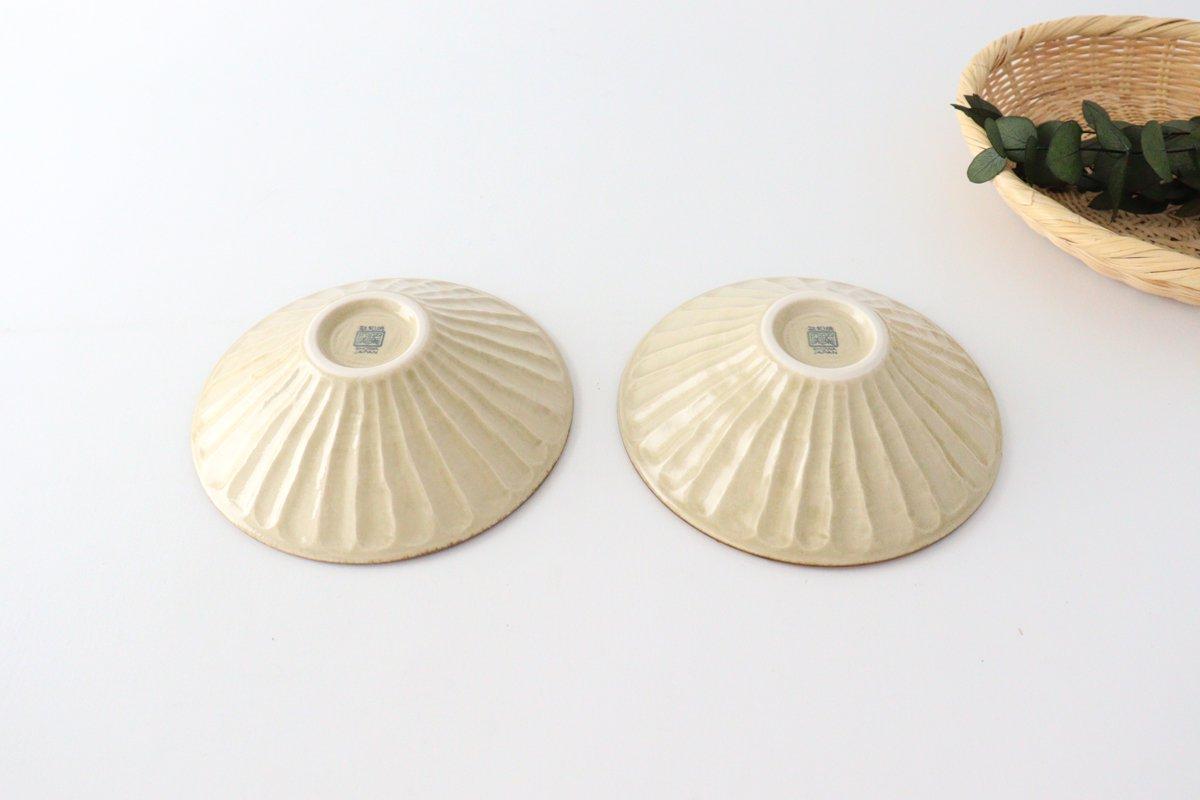 しのぎ浅鉢 小 琉球水玉 磁器 美濃焼 画像4