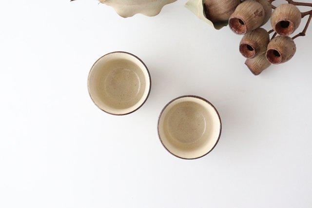 ぐい呑 鎬象嵌 陶器 昇陽窯 丹波焼 画像2