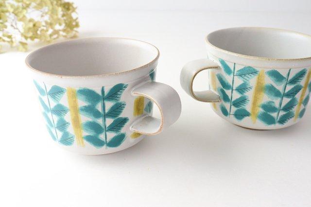 カップ&ソーサー green fajans 陶器 POTPURRI 画像4