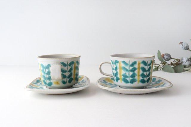 カップ&ソーサー green fajans 陶器 POTPURRI 画像5