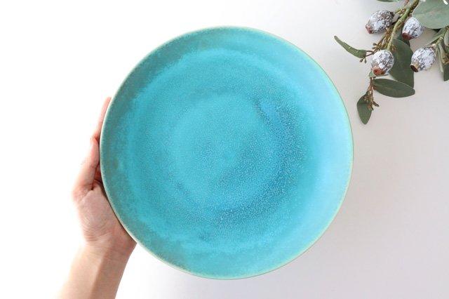プレート 24cm blue Terre 磁器 POTPURRI 画像2