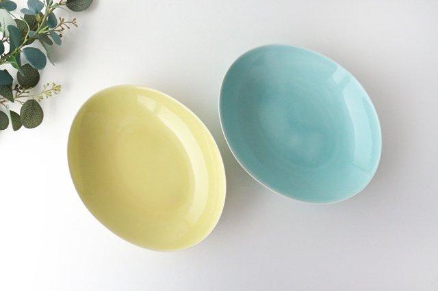 【無料ラッピング対象】ペアパスタプレート Green&Yellow Vag 磁器 POTPURRI 画像3