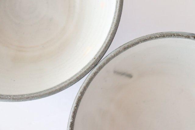 青白ドットボウル 陶器 安見工房 信楽焼 画像6