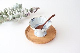 【うちる別注】デザートカップ 菊紋 磁器 染付 有田焼商品画像