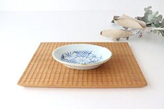【うちる別注】楕円小鉢 菊紋 磁器 染付 有田焼商品画像