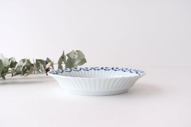 波彫皿 オランダ苺 磁器 有田焼 画像2