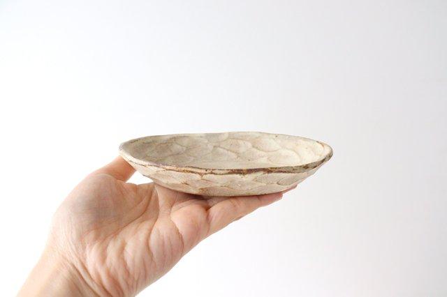 粉福 楕円皿 小 陶器 木のね 画像3