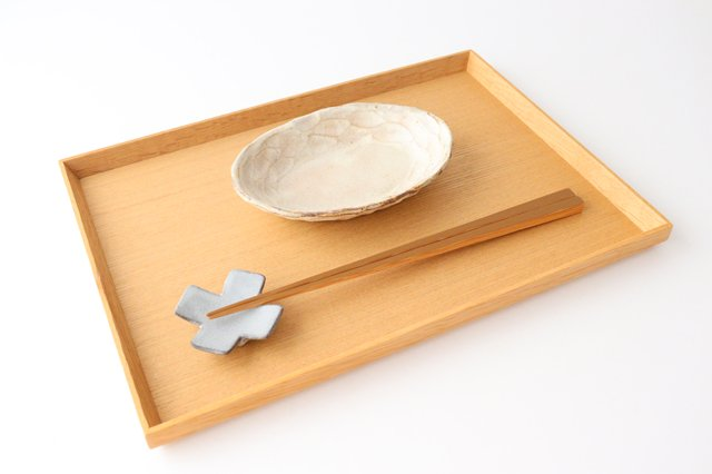 粉福 楕円皿 小 陶器 木のね 画像4