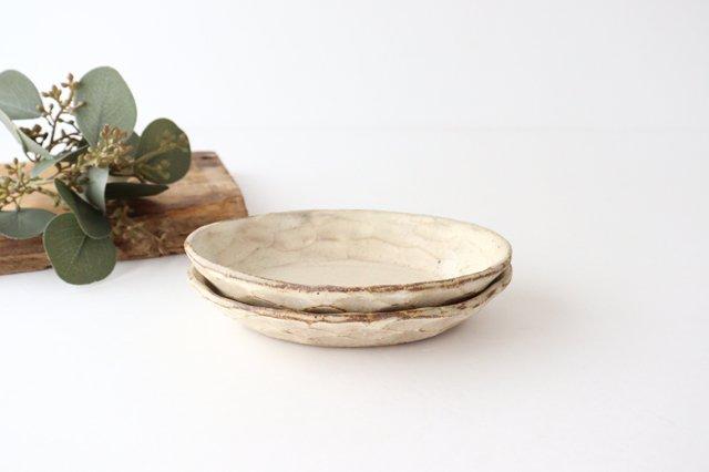 粉福 楕円皿 小 陶器 木のね 画像5