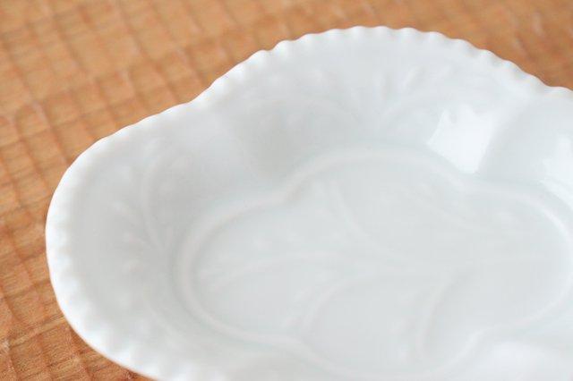 木瓜手塩皿 白磁 磁器 有田焼 画像4