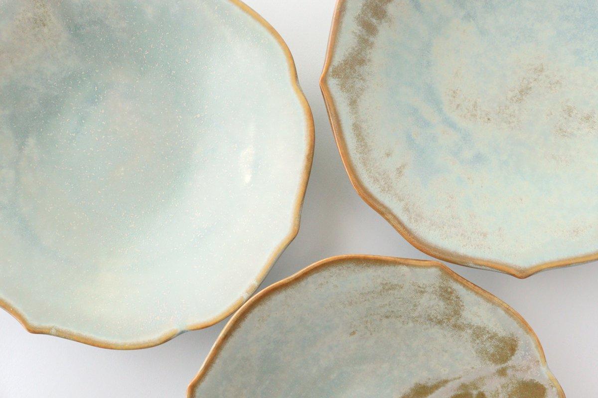 桔梗渕4.5寸皿 薄利休 磁器 有田焼 画像2