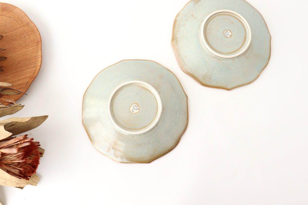 桔梗渕4.5寸皿 薄利休 磁器 有田焼 画像3