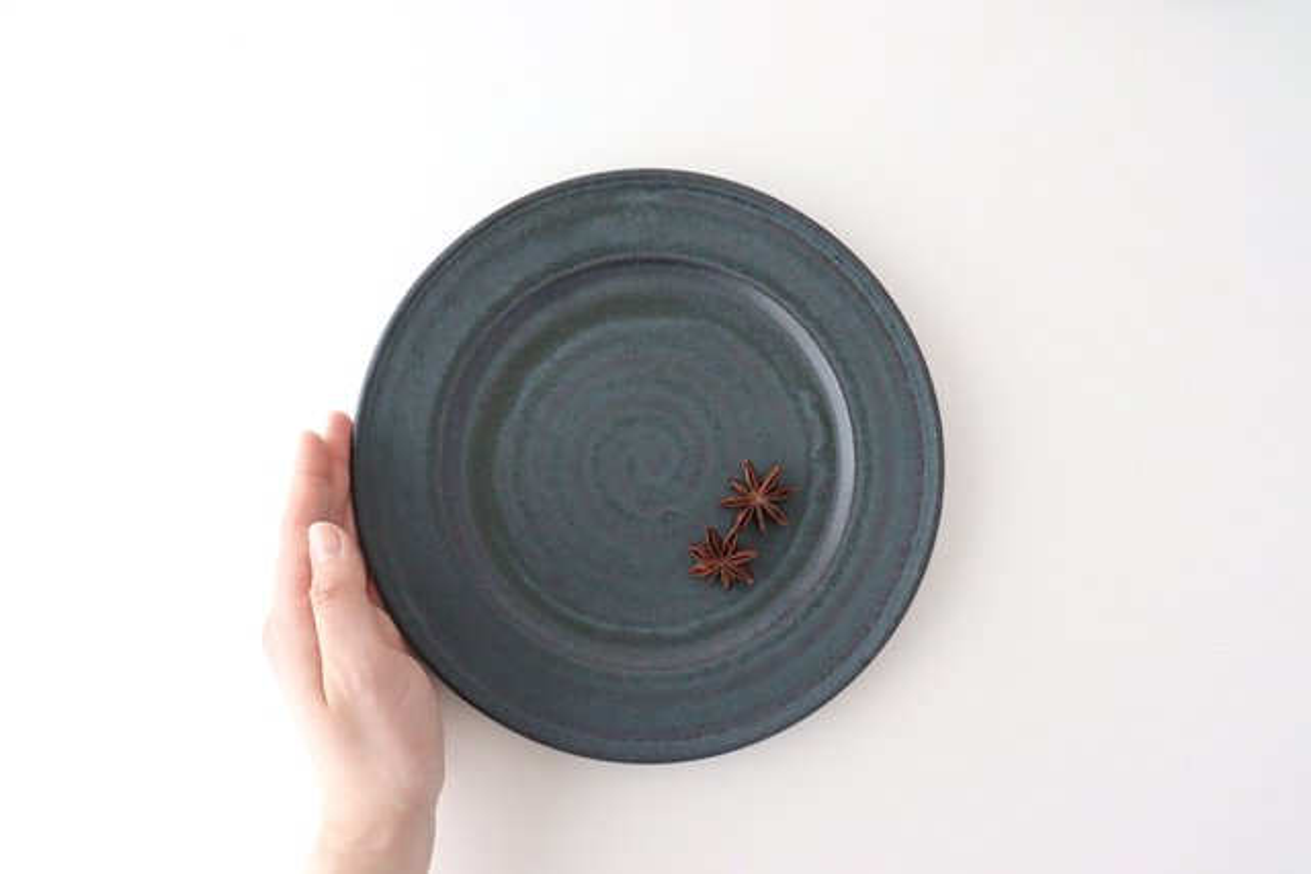 リム皿 L 陶器 都築明  画像2
