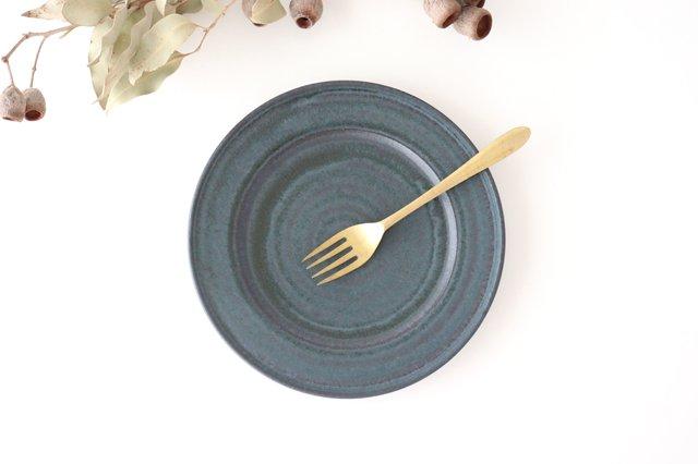 リム皿 L 陶器 都築明  画像4
