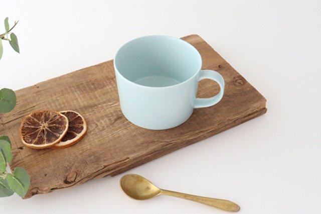 スープマグカップ ミント 磁器 波佐見焼
