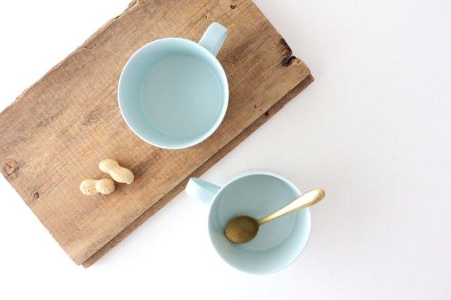 スープマグカップ ミント 磁器 波佐見焼 画像4