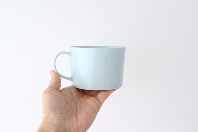 スープマグカップ ミント 磁器 波佐見焼 画像5
