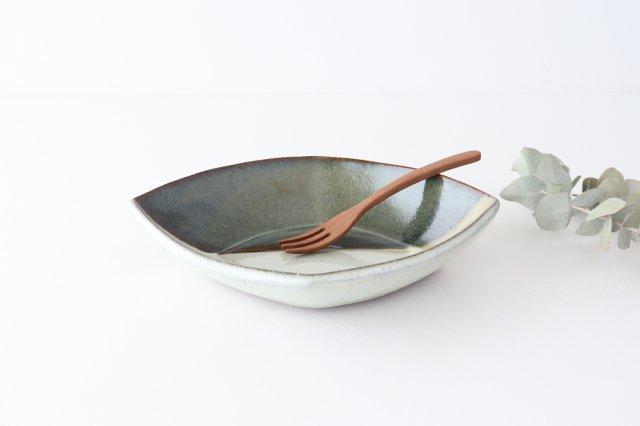 掛け分け ひし形 陶器 小代焼ちひろ窯 画像2